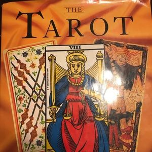 Tarot hardcopy book- goes thru each card's meaning